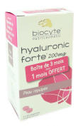 Biocyte Hyaluronic Forte 200mg Moisturising Plumping 3 x 30 Tablets