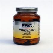 FSC Niacinamide 500mg (Vitamin B3) 60vegicaps - CLF-FSC-150250