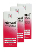 Nizoral Anti Dandruff Shampoo 60ml **3 PACK DEAL**