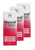 Nizoral Anti Dandruff Shampoo 60ml **3 PACK DEAL**
