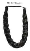 CHUNKY PLAIT HIGH QUALITY PLAITED THICK HEADBAND AVAILABLE IN 14 NATURAL COLOURS