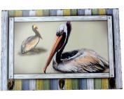 Pelican Theme Triple Hook