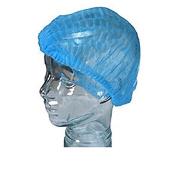 10PCS Disposable Blue Cap Protect Hair Cover Nonwovens Caps