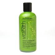 Vitabath Body Wash, Lime Citron Basil 350ml