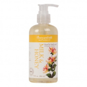 Vineyard Hill Naturals Natural Body Wash, Milk & Honey 270ml