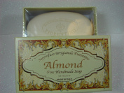 Saponificio Artigianale Fiorentino ALMOND Single Bar Soap Made in Italy - 310ml ALMOND SCENT- Fine Florentine Luxury bath soap