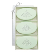 Carved Solutions Signature Spa Trio Green Tea & Bergamont-Damask Soap