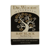 Dr. Woods Bar Soap Raw Black, 160ml -