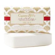 Olivina Natural Bath Soap, Cypress & Fir 150ml