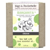 Biggs & Featherbelle Bargarita, Handmade Natural Bar Soap for Face & Body, Cleanse