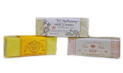 U.S. Apothecary Bar Soap Trio Sampler - Three 270ml Bars