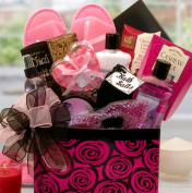 Relax the Day Away Spa Gift Basket | Cherry Blossom Scented