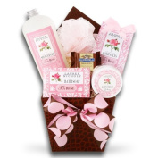 Time to Relax Spa Gift Basket