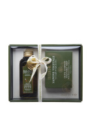 Erbario Toscano Olive Complex Gift Set, Shower Bath and Vegetable Soap