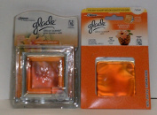 Glade Decor Scents Glass Holder with Refill Plus Additional Refill, Hawaiian Breeze Fragrance