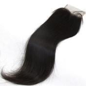 LaNova Beauty Brazilian Human Hair,Size:50cm ,Lace Closure Sliky Striaght,Natural Colour,1pc/lot,40g/pc,Human Hair Extensions Cheap