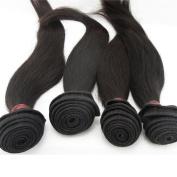 LaNova Beauty Brazilian Hair Bundles,Size:4pcs 50cm ,Sliky Striaght,Natural Colour,4pcs/lot,100g/pc,Brazilian Hair Buy
