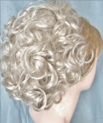 DAWN Clip On Hairpiece by Mona Lisa 59 Grey with 5% Black