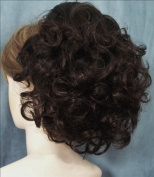 DAWN Clip On Hairpiece by Mona Lisa 4 Dark Brown