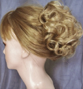 HAYLEY Clip On Hairpiece by Mona Lisa 24 Light Golden Ash Blonde