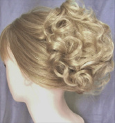 HAYLEY Clip On Hairpiece by Mona Lisa 22 Light Ash Blonde