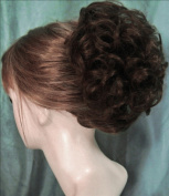 HAYLEY Clip On Hairpiece by Mona Lisa 6-Dark Chestnut Brown