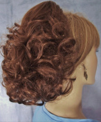 DAWN Clip On Hairpiece by Mona Lisa 30 Auburn