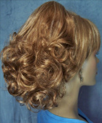 DAWN Clip On Hairpiece by Mona Lisa 27H613 Strawberry-Vanilla