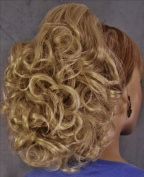 DAWN Clip On Hairpiece by Mona Lisa 24-Light Golden Ash Blonde