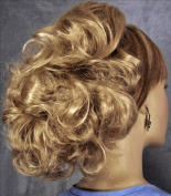 DAWN Clip On Hairpiece by Mona Lisa 19-Light Strawberry Blonde