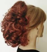 DAWN Clip On Hairpiece by Mona Lisa 130 Copper Red