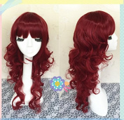 65cm Long Wine Red Beautiful Lolita Cosplay Wig, Costume Wig, Anime Wigs for Party UF002