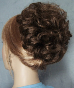 HAYLEY Clip On Hairpiece by Mona Lisa 8-Chestnut Brown
