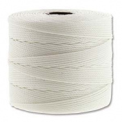 Superlon White Fine Bead Cord