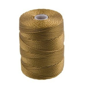C-Lon Bead Cord, Antique Gold