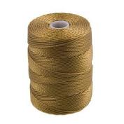 C-Lon Bead Cord, Antique Gold