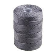 C-Lon Bead Cord, Grey