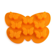 Delidge 8 Cavity Petite Butterfly Silicone Casting Chocolate Mould DIY Decorating Tool