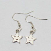 Star Earrings - Star Celestial Silver Earrings - Simple Everyday Silver Earrings