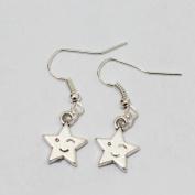 Star Earrings - Star Celestial Silver Earrings - Simple Everyday Silver Earrings