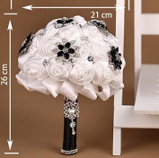 Advanced Customization High Quality Romantic Handmade Bride Holding Flower, Western Style Elegant Wedding Bouquet,gorgeous and Beautiful of the Appearance