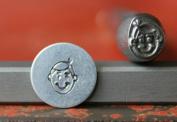 SUPPLY GUY 5-7mm Single Metal Punch Design Stamp