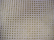 Cane Webbing Standard Size Fine Open 1.3cm Mesh, 46cm Wide, Sold By the Running Foot