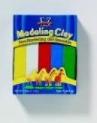 Ez Shape Non-Hardening Non-Toxic Reusable Wax-Based Modelling Clay, Pack - 5