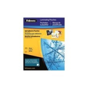 Fellowes 42064 Fellowes 42064 Self Adhesive Laminating Pouches - Business 5-Pack
