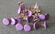 Scrapbooking - Large Round Brads - Lavender - 25pc