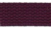 Cotton Webbing 2.5cm - 100% Cotton - 10 Yards - Purple