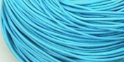 5 Metres 2mm Light Blue Round Geniune Leather Cord Jewellery Good for DIY Ideas