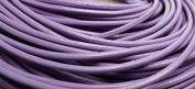 5 Metres 2mm Lavender Round Geniune Leather Cord Jewellery Good for DIY Ideas