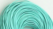 5 Metres 2mm Bean Green Round Geniune Leather Cord Jewellery Good for DIY Ideas